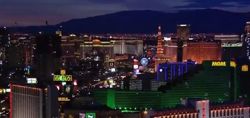 americas got talent live showing at the palazzo theatre las vegas skyline night