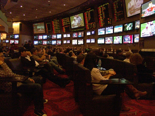 mgm sports book is one of the ruddest in Vegas