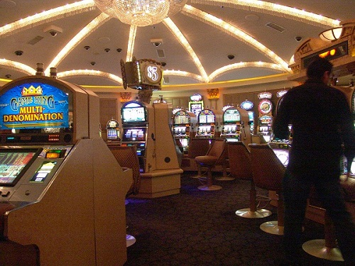 nickle slot area