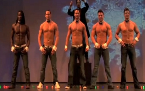 chippendales showing at the rio