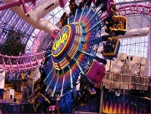 the only indoor amusement park in vegas