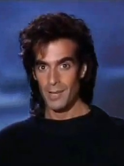 David Copperfield performing in Las Vegasat the Hollywood Theater MGM Grand