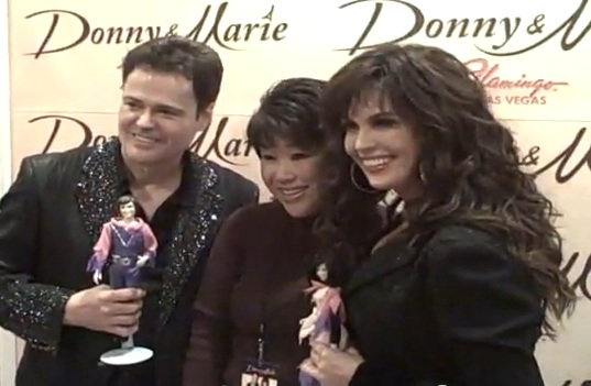 Donny and Marie peforming at the Flamingo, Las Vegas