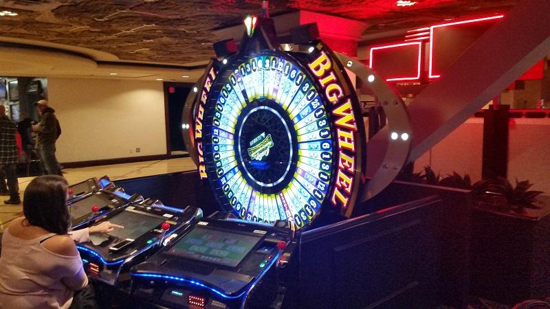 Big Wheel in Machine form