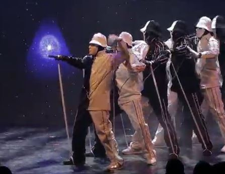 Jabbawockeez Las Vegas is similar to blue man group but still fresh