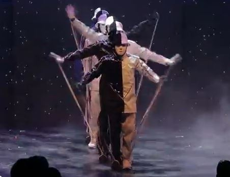 Jabbawockeez Las Vegas the puppet routine