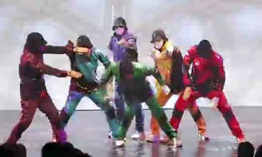 Jabbawockeez Las Vegas brings plenty of color to the stage