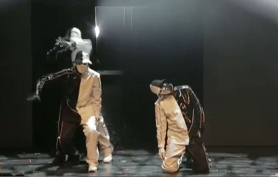 Jabbawockeez Las Vegas black and white
