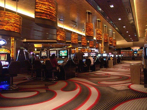 casino showing the expensive deco