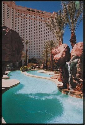 monte carlo swimming pool las vegas