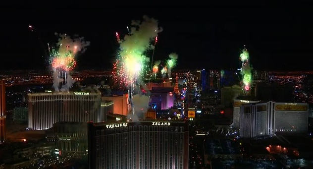 nye vegas wild and crazy fireworks and lots more