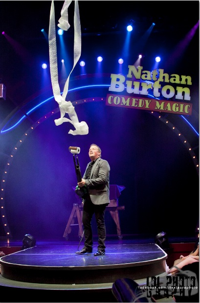 Nathan Burton Comedy Magic Show For A Limted Time Get