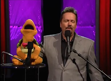 terry fator performing at the terry fator theatre mirage las vegas