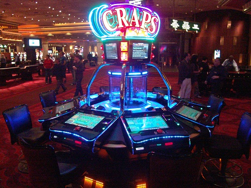 this new craps game can be found at MGM Gran