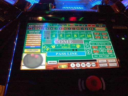 new craps game table layou