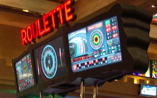 top of the new roulette machin