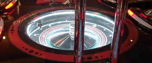 the wheel in the new vegas roulett