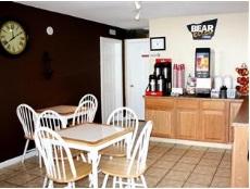 bear breakfast room