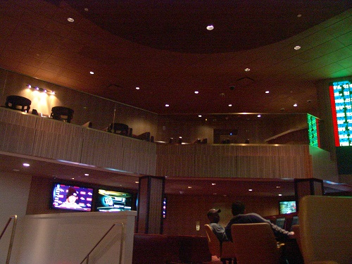 tropicana sports book has a vip section on the second floo