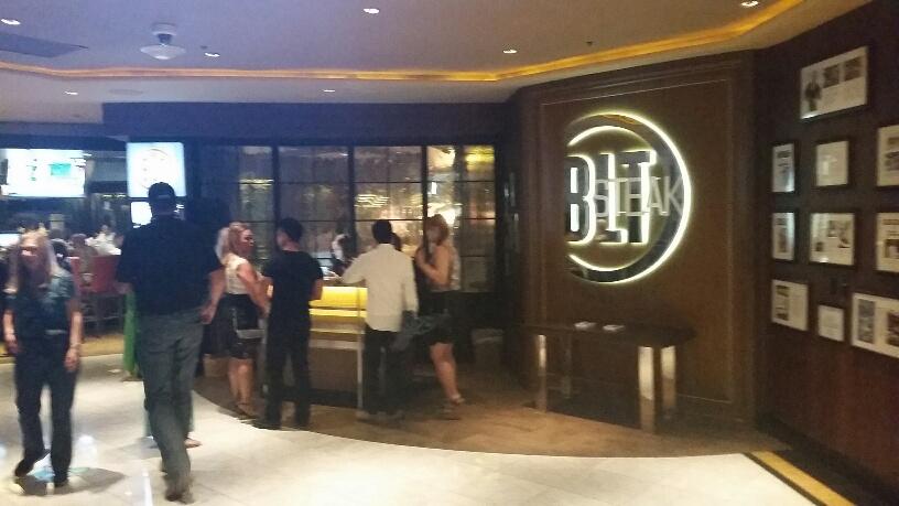 BLT is a famous steak house that steak lovers visit often