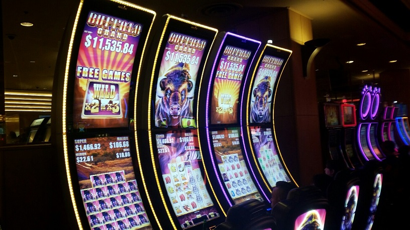 Buffalo Slots are very popular at Ballys