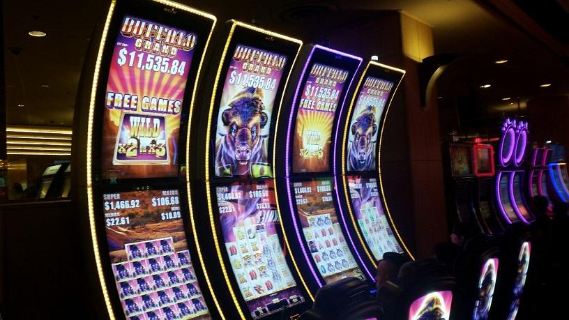 Buffalo Slots are very popular at Ballys