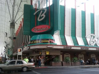 corner of binions downtown las vegas