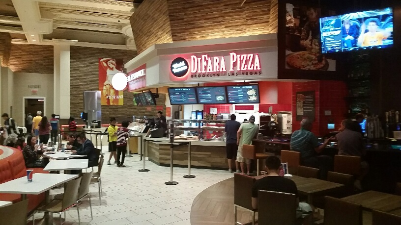 Great Pizza at Caesars food court