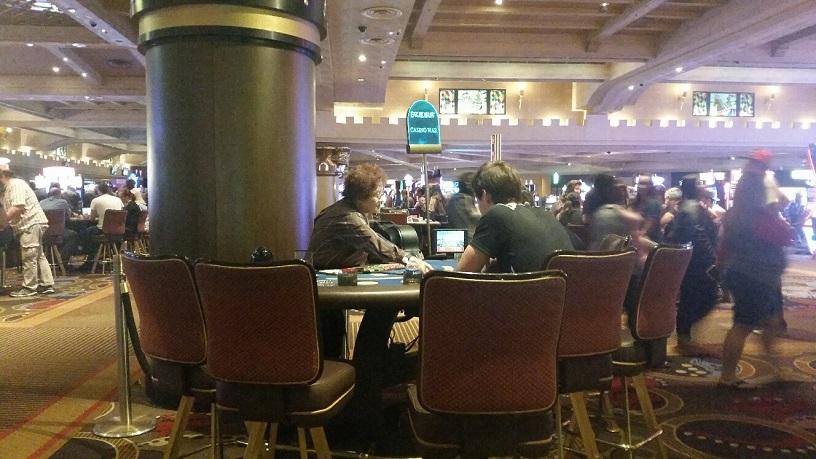Excalibur Casino War