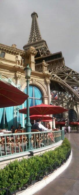 vegas de las de torre de effiel de día París