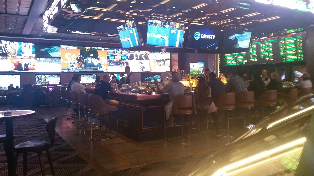 Now a very spacious and fun Sports Book