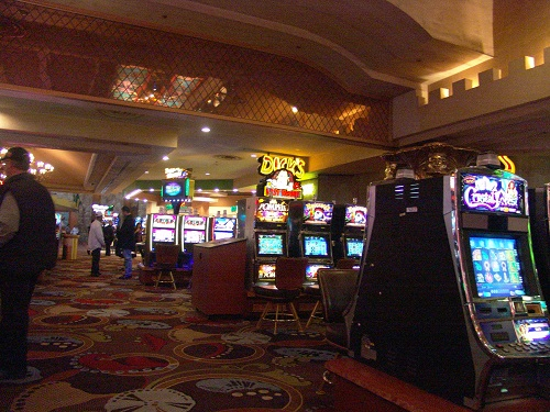 can you when playing slots in las vegas?