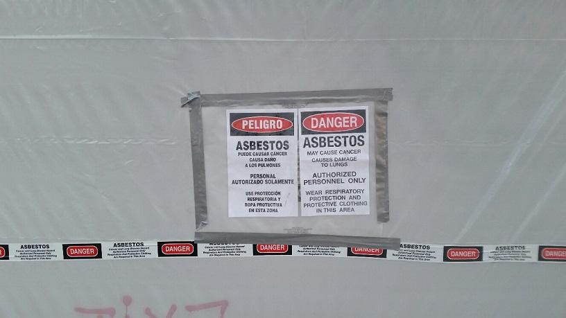 Plenty of Asbestos in this old building