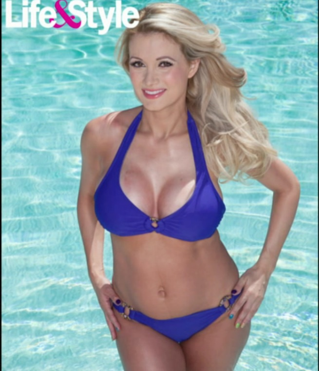 holly madison in shape after having baby