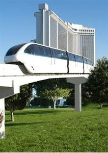 monorail leaving lvh