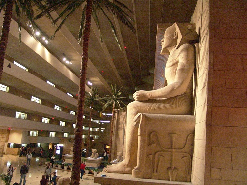atrium at luxor