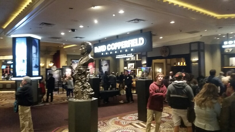 David Copperfield has been at MGM for decades