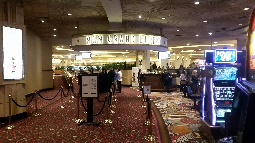 MGM Grand Buffet is the largest in Vegas