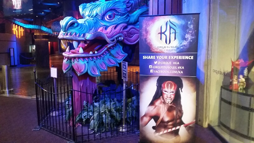 KA is a Cirque Show playing at MGM