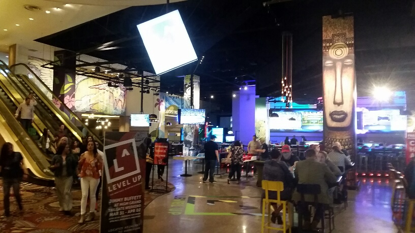 Level Up is the newest addition to MGM and caters to younger Customers