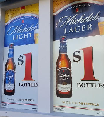Dollar Bottle Beer 24/7