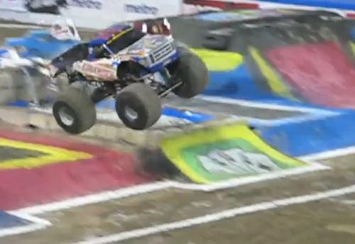 march 23, 2013 advance auto parts monster jam las vegas at sam boyd's stadium