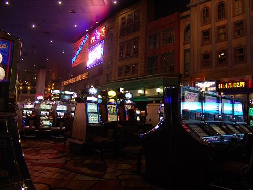 new york background from casino floo