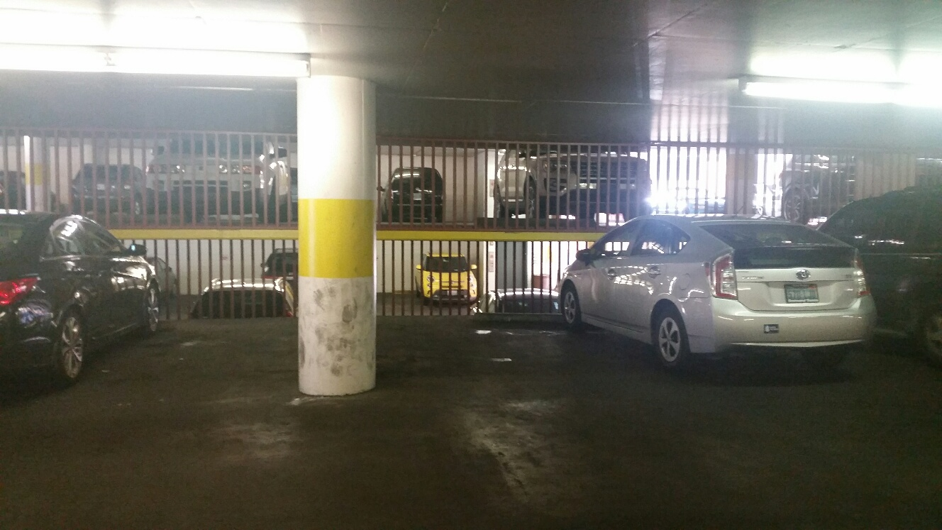 empty parking space at Casino Royale, plenty more just like it.