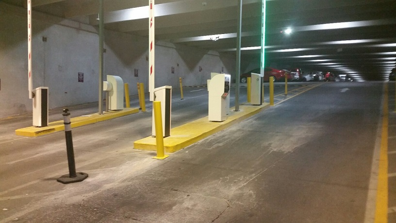 Cromwell Parking gates are now fully operational
