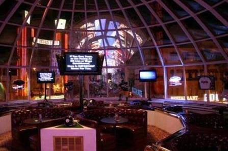oscars restaurant view of fremont st
