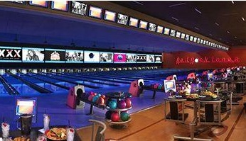 very large bowling alle