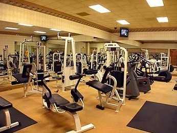 fitness equipment in the fitness center rio