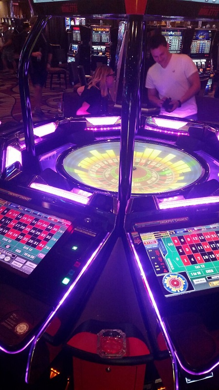 Never Play this machine, it is the digital version of the new Roulette machines.