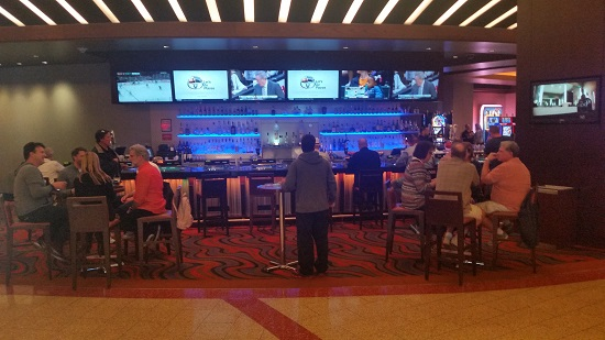 Bar at the Sports Book